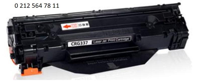 Canon Crg737 Siyah Toner Dolumu