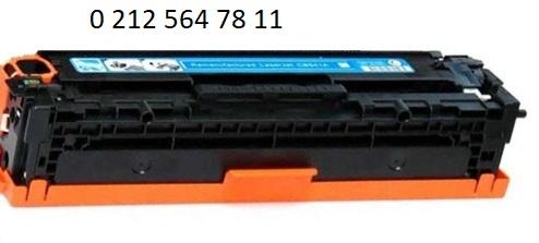 Hp 128a ce321a Mavi Toner Dolumu