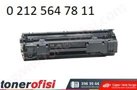 Hp 35a Siyah Toner Dolumu Cb435a