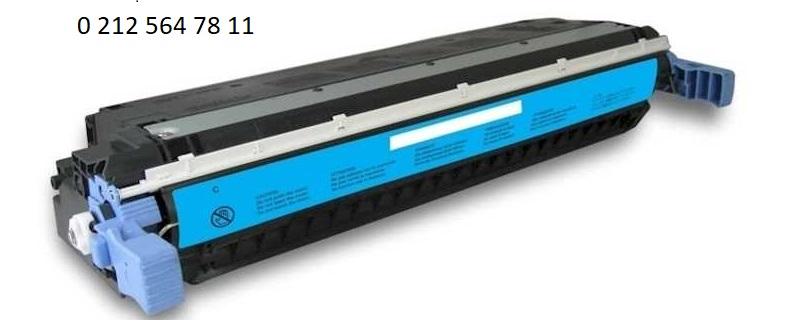 Hp 645a c9731a Mavi Toner Dolumu