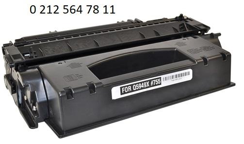 Hp Q5949x Yüksek Kapasite Siyah Muadil Toner