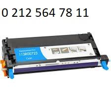 Xerox 113R00723 mavi Toner Dolumu