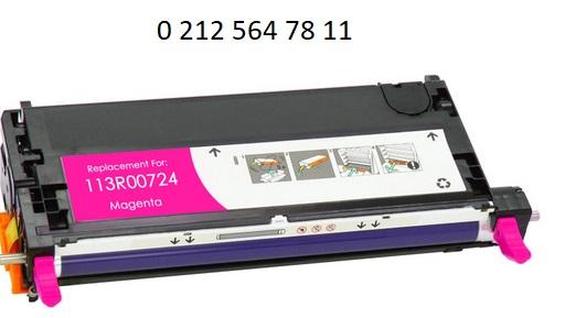 Xerox 113R00724 Kirmizi Toner Dolumu