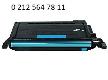 Clp C600 Mavi Toner Dolumu