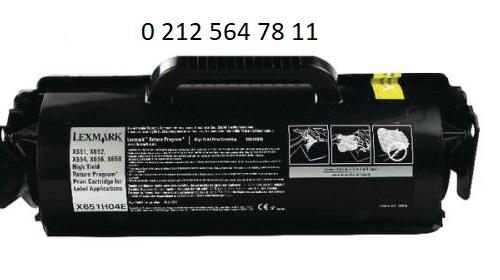 Lexmark X651H04E Siyah Toner Dolumu