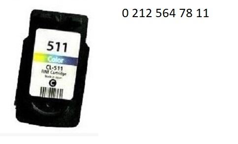 PG 511 Renkli Kartuş Dolumu