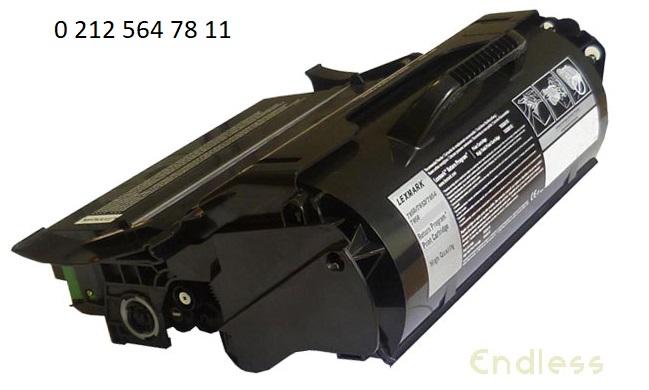 T650H11E Siyah Muadil Toner