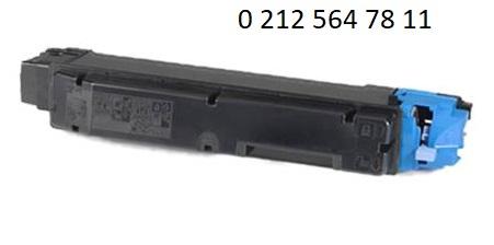 TK 8505 Mavi Toner Dolumu