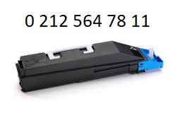 TK 855 Mavi Toner Dolumu